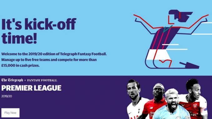 the daily telegraph fantasy football tips